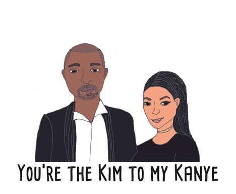 Celebrity Romance Cards