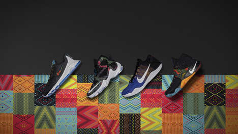 Culture-Honoring Footwear - Nike's 2016 Black History Month Collection Boasts Vibrant Colorways