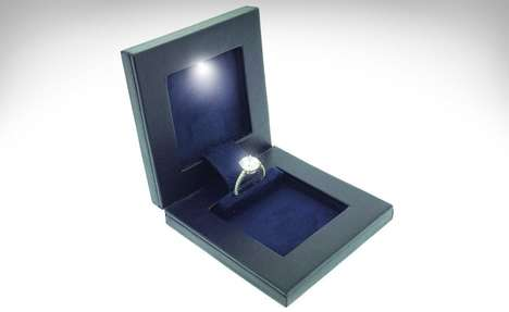 Discreet Engagement Ring Boxes - This Thin Ring Box Helps Users Keep Their Upcoming Proposal Secret