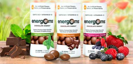 Energy-Boosting Chocolates