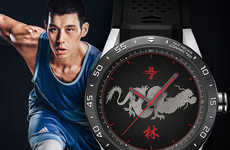 Celebrity Athlete Smartwatches - TAG Heuer's Connected Smartwatch is Fronted by Famous Athletes