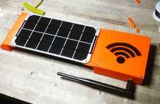 Eco-Friendly Computer Peripherals - The 'Rogue Router' File Server System Features a Solar Panel
