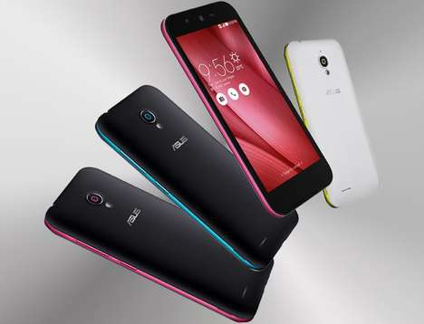 Impressive Low-Cost Smartphones - The Asus Live Android OS Smartphone is a Cost-Effective Device