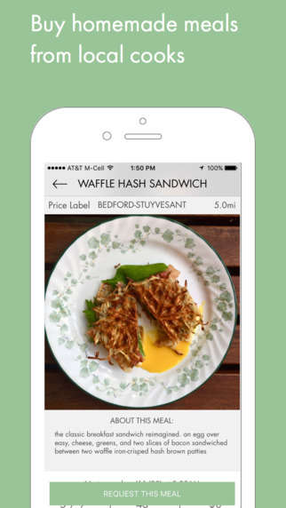 Homemade Meal Delivery Apps