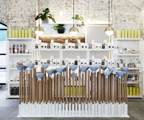 Airy Teahouse Concepts - The Rabbit Hole is a Whimsical Organic Tea Bar in Australia