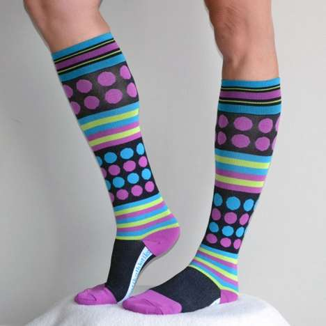 Fashionable Compression Socks - Run Mummy Run's Fitness Accessories Fuse Style With Function