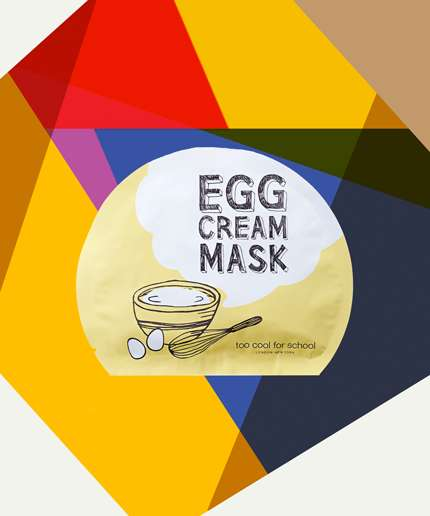 Egg-Based Skin Ranges - Too Cool For School is Offering Award-Winning Egg Skin Care Products
