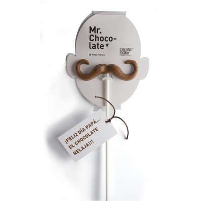 Moustache-Shaped Chocolates