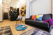 Urban Co-Living Spaces - Startup 'WeWork' is Testing a New York Co-Living Building Called 'WeLive'
