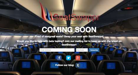 Seat Swapping Apps - This Travel App Facilitates Seat Exchanges Between Airplane Passengers