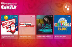Kid-Friendly Radio Apps - The iHeartRadio Family App is a Dedicated Radio for Kids