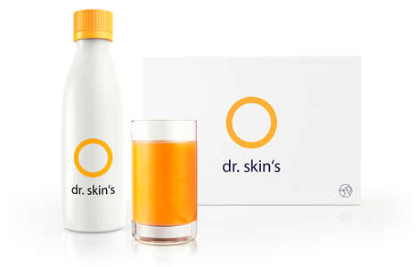 Sun Care Drinks - Dr. Skin's Natural Sun Protection Remedy Takes the Form of a Drink