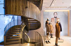 Palatial Designer Flagships - The Max Mara Beijing Store Has Opened in the Luxury Fashion District