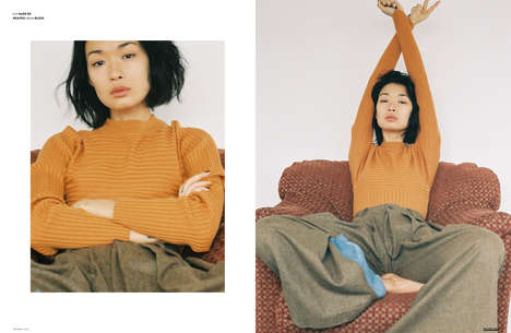 Moody Stay-at-Home Editorials - The Ones 2 Watch 'Bibi, Baby' Feature Boasts Comfortable Fashions