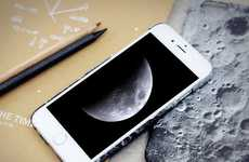 Lunar Smartphone Cases - This Cellular Accessory Replicates the Surface of the Moon