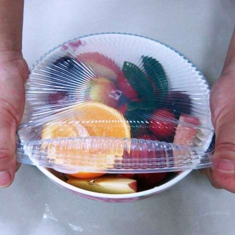 Stretchy Silicone Lids - The Smart Silicone Covers Adjust to Give a Custom Airtight Container Fit