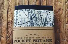 Typographic Traveler Handkerchiefs