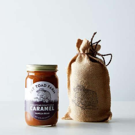 Goat's Milk Caramel Sauces