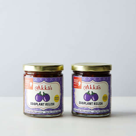 South Indian Eggplant Relishes