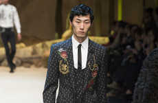 Sicilian Western Couture - The Dolce & Gabbana Men's Fall Collection is Fit for Cowboys