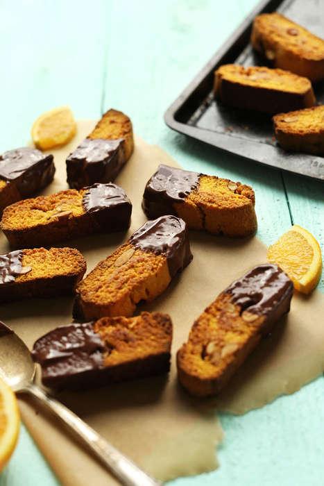 Vegan Biscotti Biscuits