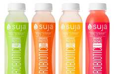 Fruity Probiotic Water - Suja Makes Enhanced Water Beverages with Pleasing Sweet Flavors