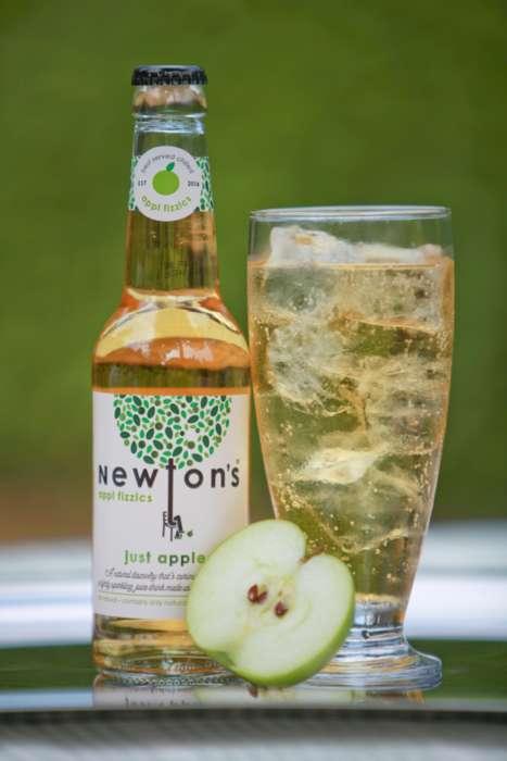 Healthy Sparkling Apple Juices
