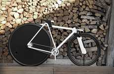 Ergonomic Bicycle Designs - Paolo de Giusti's Modern Bicycle Toys with Wheel-Ratio Ergonomics