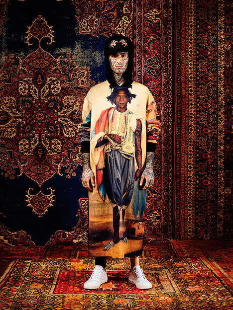 Exotic Streetwear Catalogs - The Latest Les Benjamins Collection is Titled 'Ottoman Punk'