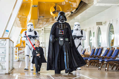 Sci-Fi Cruise Experiences - Disney's 'Star Wars Day at Sea' Features Themed Food and Events