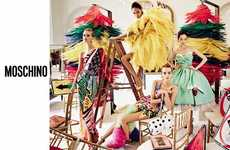 Car Wash Couture Ads - The Moschino Spring/Summer Campaign Takes Place in a Luxe Car Wash