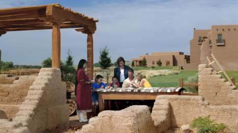 Educational Family Vacations - The Hyatt Regency Tamaya Helps to Share Native American Traditions