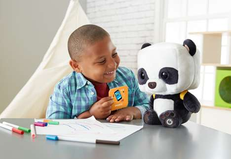 Conversational Smart Toys - The Fisher-Price Smart Toy Panda Features Voice Recognition Technology