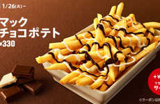 Chocolate-Covered French Fries - This Fast Food Chain is Putting an Unusual Twist on a Classic Dish