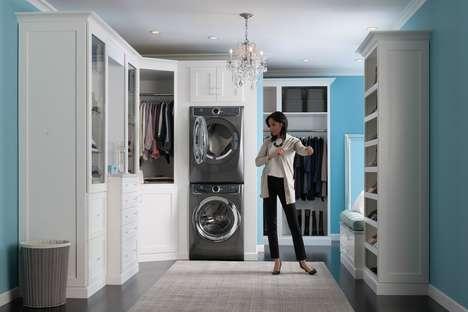 Detergent-Mixing Washing Machines