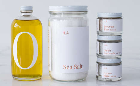 Curated Pantry Collections - This 'Ila' Line of Home Essentials is Sourced from Around the World