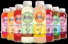 Non-GMO Sparkling Tonics - KeVita Sparkling Beverages are Packed with Probiotics and Botanicals