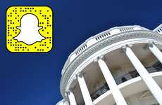Inclusive Presidential Social Accounts - The White House Officially Launched its Own Snapchat Story