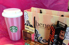 Coffee-Focused Beauty Campaigns - Benefit Cosmetics and Starbucks Team Up for a Friendly Venture