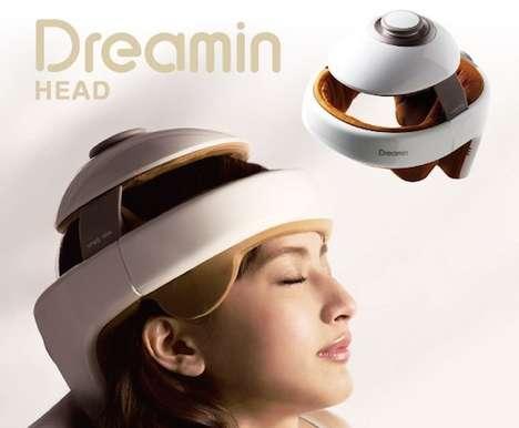 Therapeutic Massage Helmets