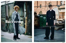 Menswear Alleyway Editorials