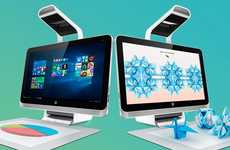 Object-Scanning Desktops - The HP Sprout Pro All in One Desktop Packs a Built-in 3D Scanner and More