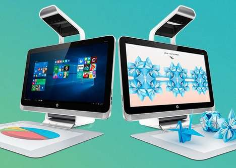 Object-Scanning Desktops