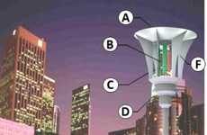 LED Mosquito Traps - The Energy Efficient Street Lamps Attract Mosquitos With Human-Mimicking Scent