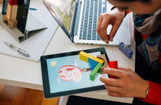 Tablet-Connected Building Blocks - This Toy Bridges the Gap Between Physical and Digital Play