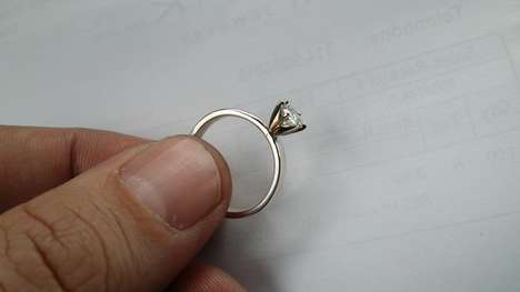 Boyfriend-Made Engagement Rings