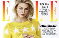 Day-to-Night Fashion Photoshoots - Aline Weber Covers the Latest Issue of ELLE Russia
