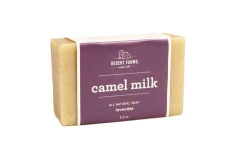 Floral Camel Milk Soaps