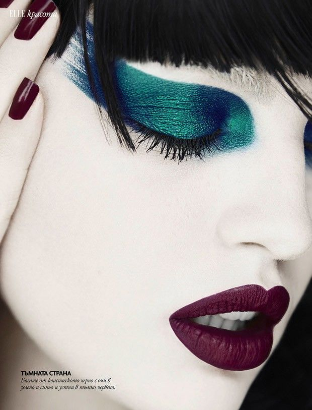 Expressive Makeup Photography
