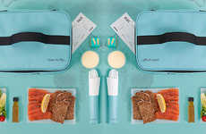 Gourmet Airplane Food Hampers - Fortnum & Mason's In-Flight Hampers Boast Caviar and Foie Gras